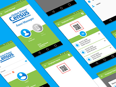 US Census Bureau - Native Mobile App Design for Android
