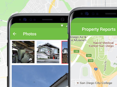 County of San Diego - Native Mobile App Design for Android