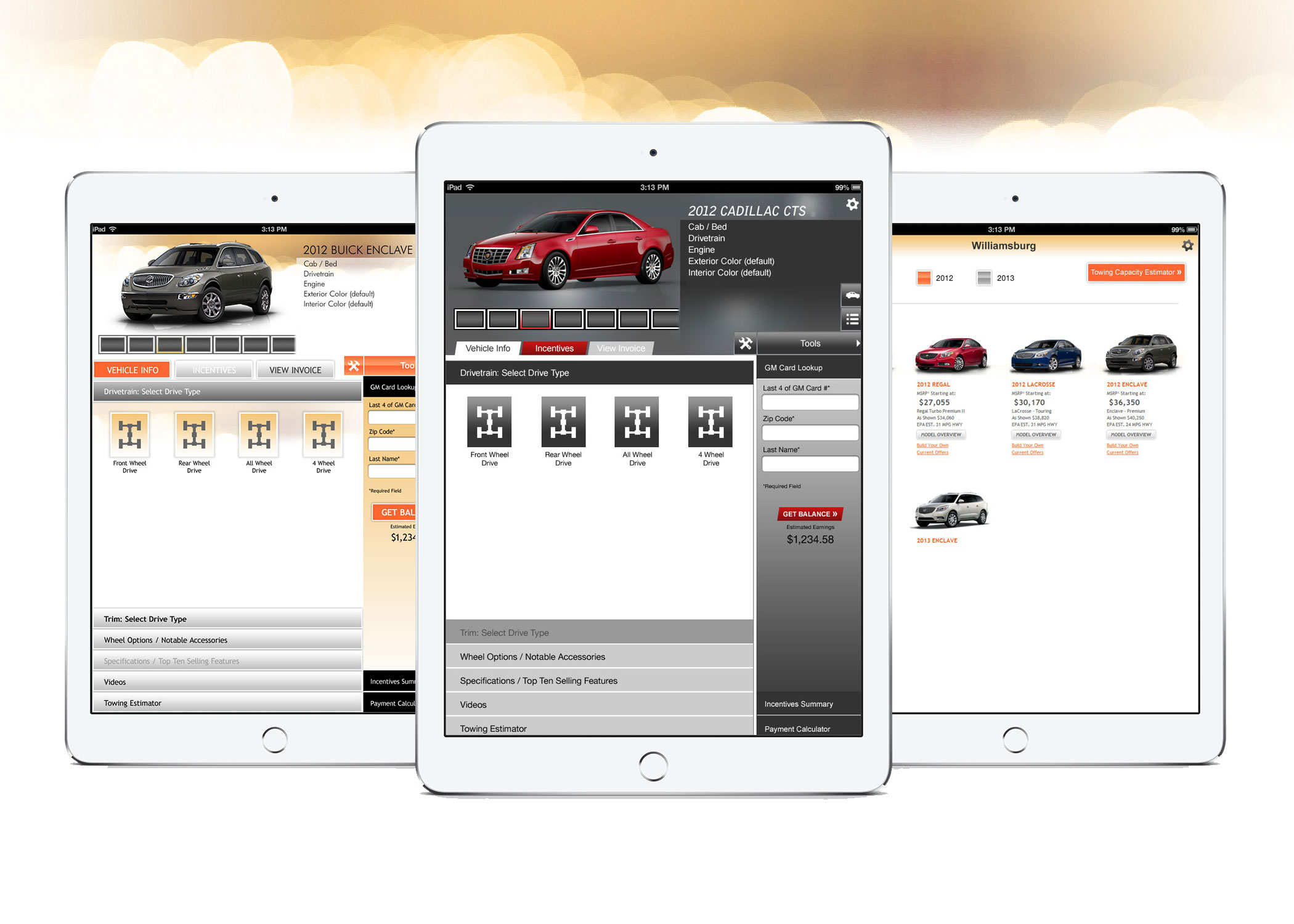 General Motors - Mobile App Design for iOS